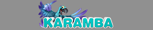 The Karamba casino logo in 300x60,