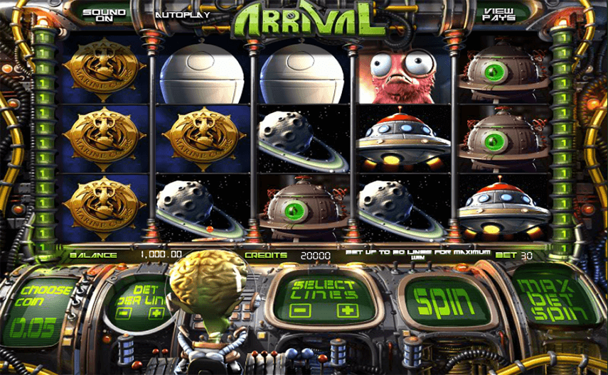 Arrival Ingame