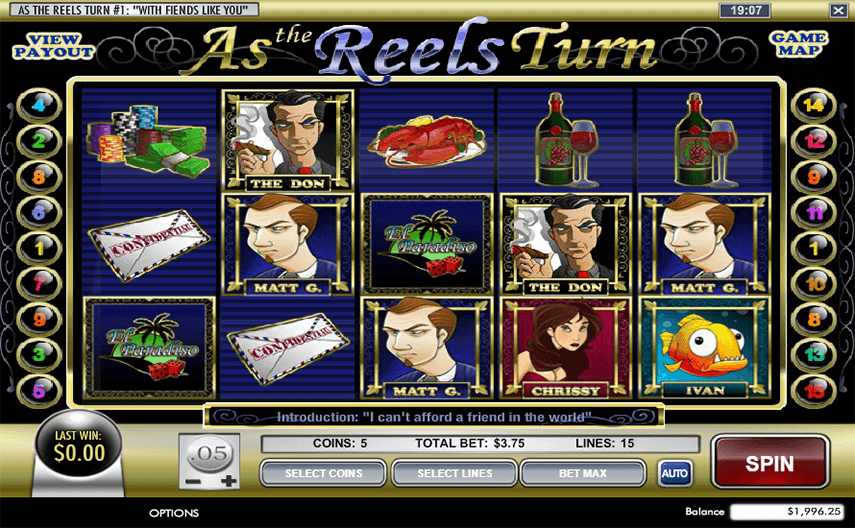 As The Reels Turn Ep 1 Ingame
