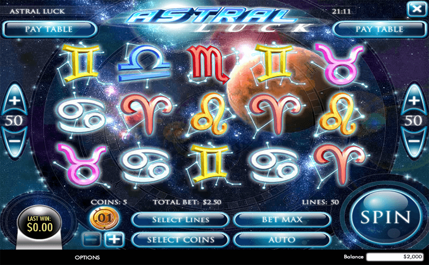 Astral Luck Ingame