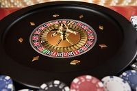 Image that shows the Roulette table