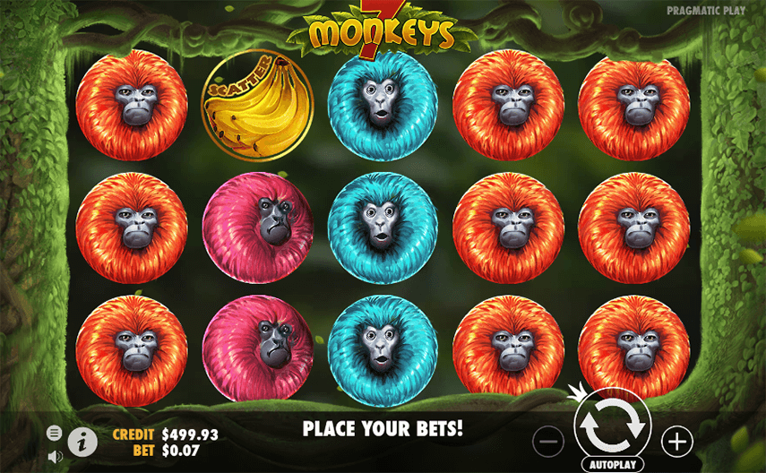 7 Monkeys Ingame