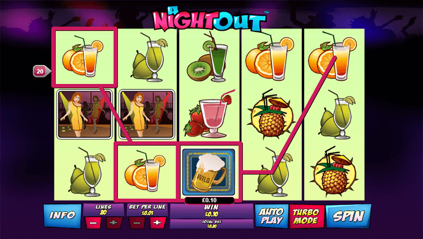 A Night Out Ingame