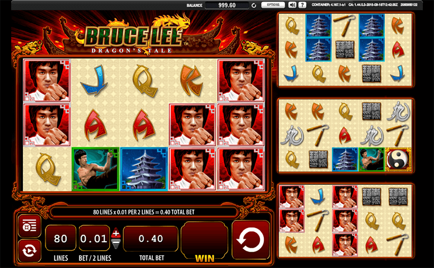 Bruce Lee - Dragon's Tale Ingame