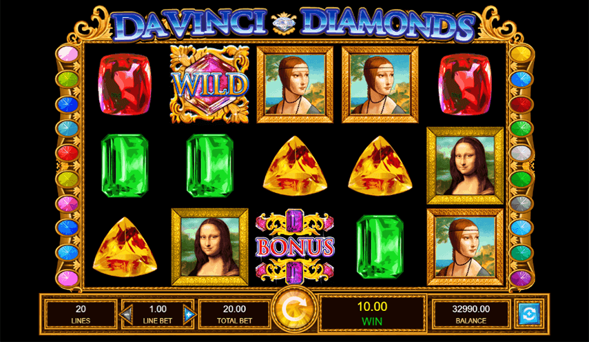 Da Vinci Diamonds Ingame
