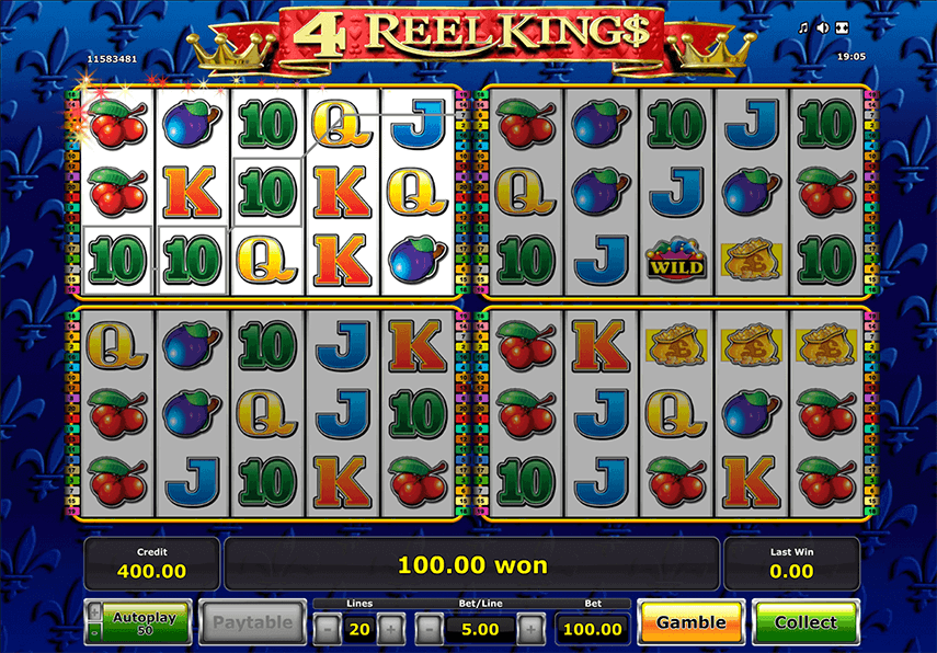 4 Reel Kings Ingame