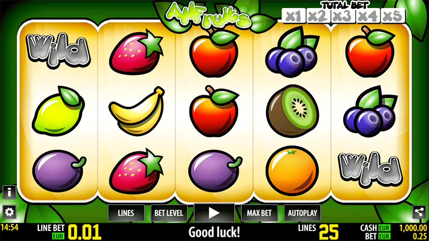 All Fruits HD Ingame