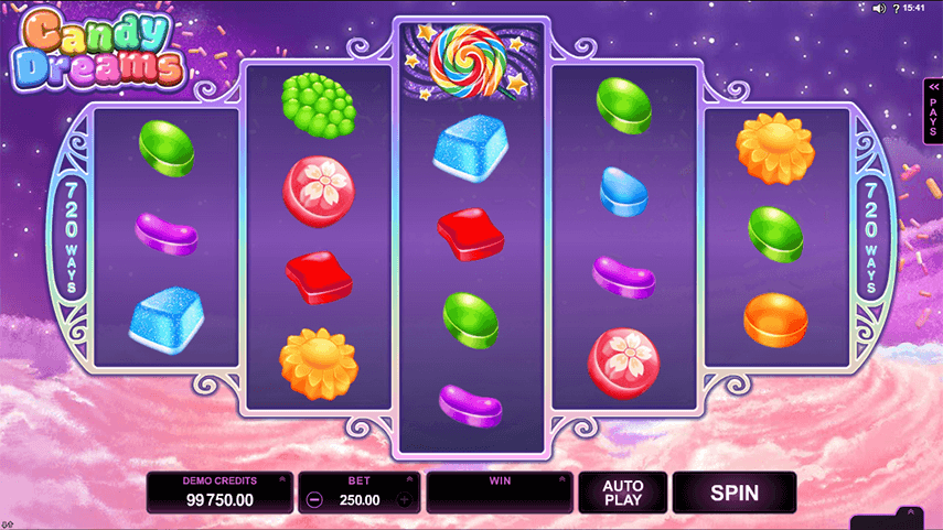 Candy Dreams Ingame