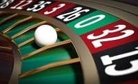 A roulette ball