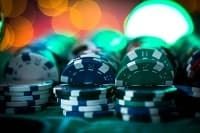 Anoter image of gambling chips
